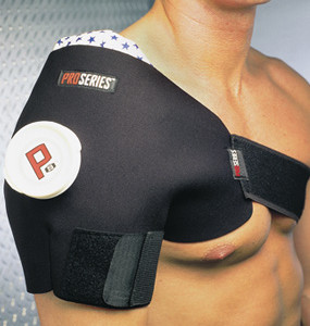 Shoulder / Rotator Cuff Ice Pack & Ice Wrap